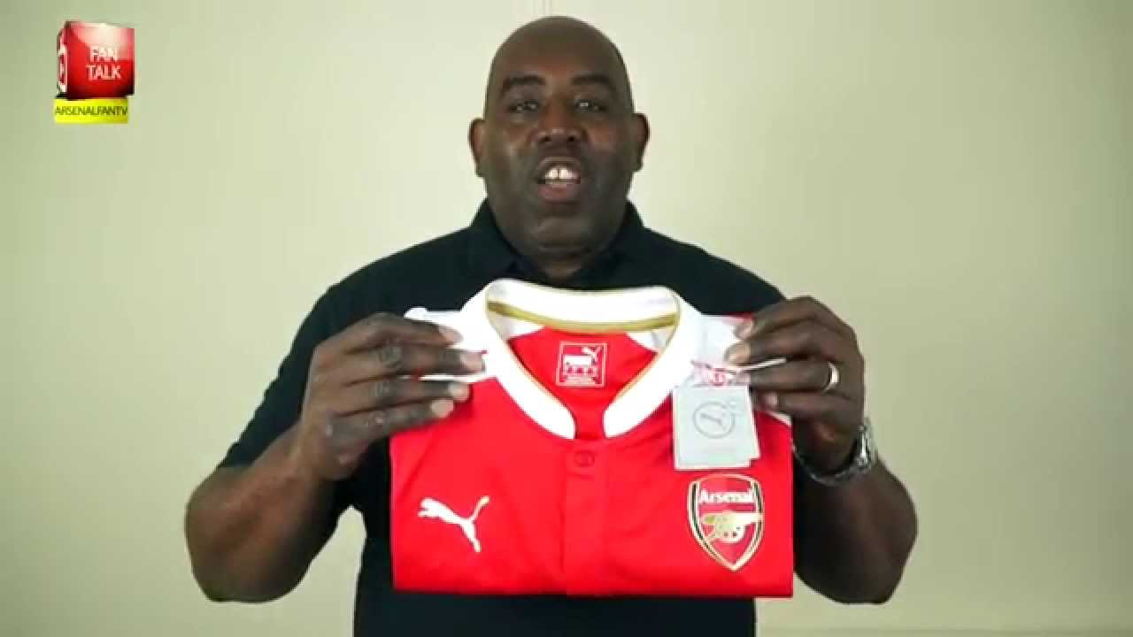 Exclusive New Arsenal Home Kit 2015 16 Unboxing Youtube