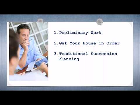 How Construction Companies Build a Simple, Powerful Succession Plan