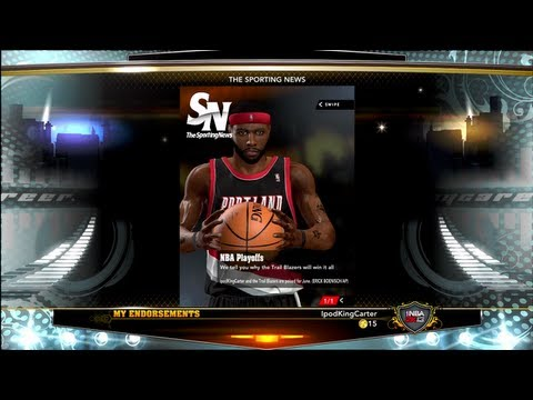 NBA 2K13 MyCAREER - The Sporting News Tablet Edition Endorsement Feat. Athletic PG