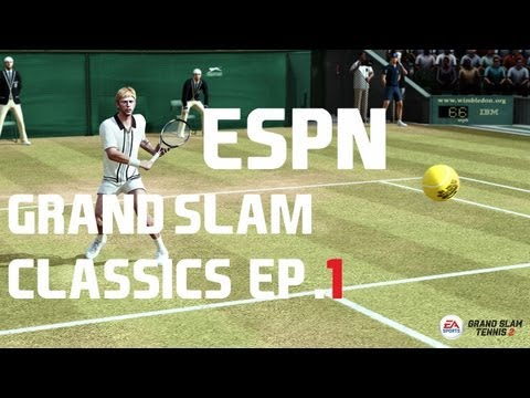 Grand Slam Tennis 2 - ESPN - Grand Slam Classics - Episode 1