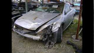 2003 Honda Accord V6 parts AUTO WRECKERS RECYCLERS anhdonline.com Acura used