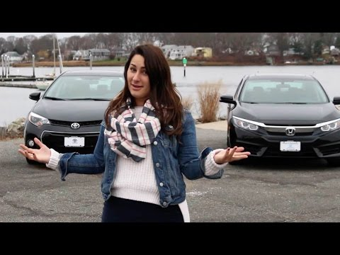 2016 Honda Civic Vs Toyota Corolla Comparison Herb Chambers
