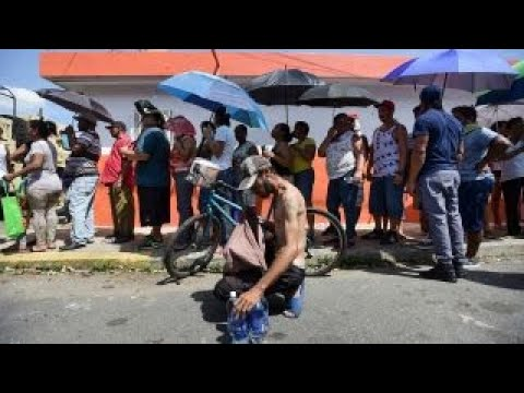 'End of modern life' in Puerto Rico after Hurricane Maria