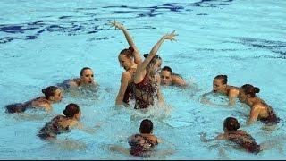 Синхронное плавание | Россия | ЧМ 2013 Барселона | Комбинированная программа