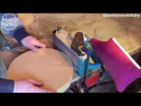 Man Makes DIY, Handmade Stool Out of Shock Absorbers and Coil Springs