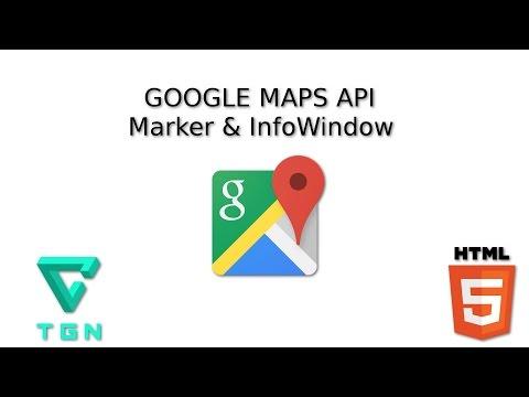 Tutorial De Google Maps  - Colocar Marcador Y Ventana De Información