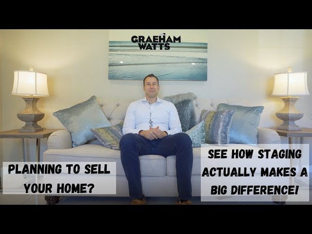 Planning to sell your home? See how staging actually makes a big difference!