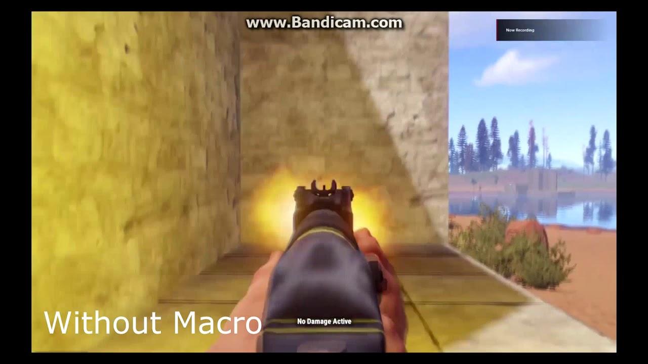 Perfect Rust No Recoil Macro Scripts Rapidfire | RoyalMacros