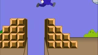 Super Mario Brothers Flash Animation Level 1-1