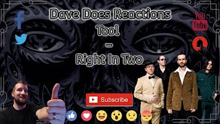 Tool - Right In Two - Dave Does Reactions