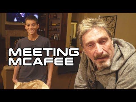 Hanging & Filming With JOHN MCAFEE - Vlog1