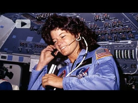 Sally Ride Remembers Her Shuttle Flight Video YouTube
