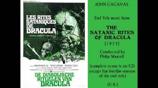 John Cacavas: End Title music from The Satanic Rites of Dracula (1973)