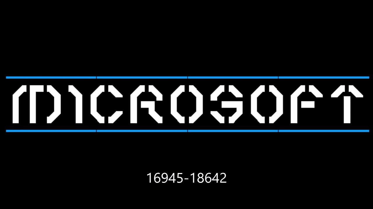 Download Microsoft Logo Evolution (Arsen54800's WNR)