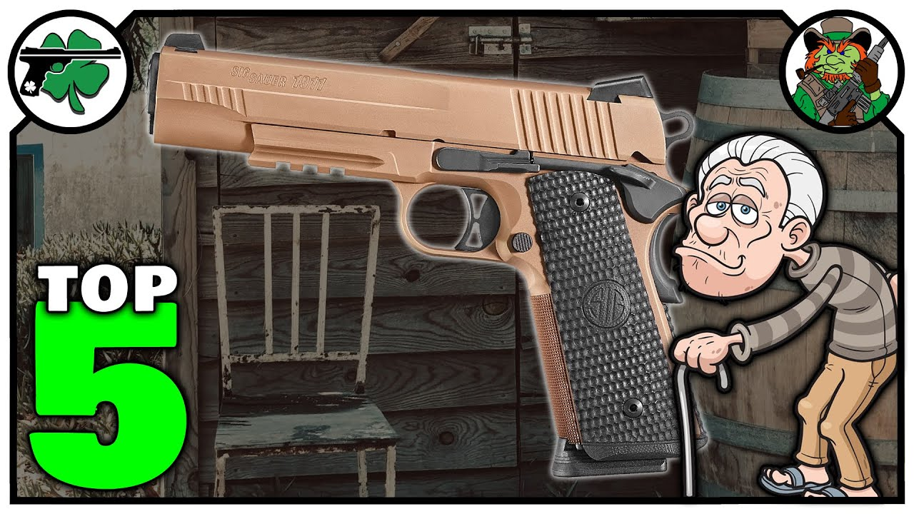 Top Five 1911 Handguns I Wished That I Owned (February 2021)