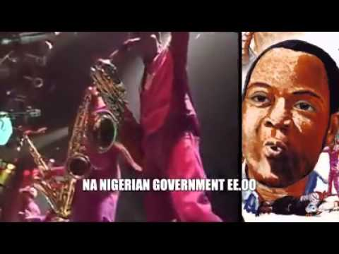 Fela: Buhari name Animal in human skin