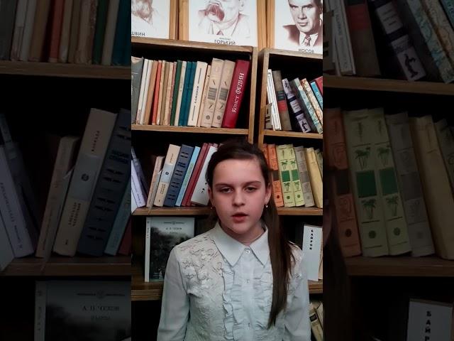 Изображение предпросмотра прочтения – МаргаритаЧернова читает произведение «Прошла гроза и ветка белых роз..» А.А.Блока