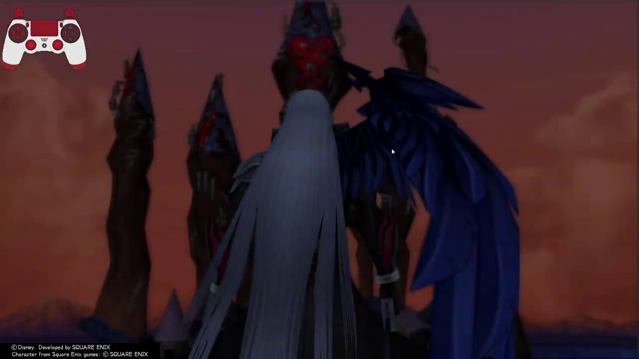 Kingdom Hearts 2 Final Mix Hd Lvl 1 Sephiroth No Left