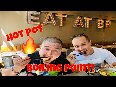 BOILING POINT ON POINT! | HOT POT | Rick Rock Foodie
