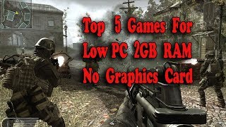 Top 5 low end pc games 2017