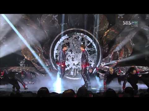 TVXQ - Catch Me [SBS Inkigayo 121014] Live HD