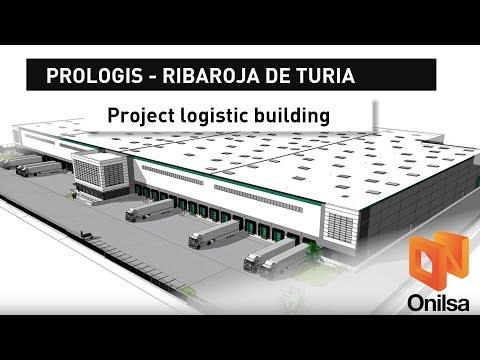 BIM Logistic Warehouse for Prologis at Ribarroja de Turia - Valencia-