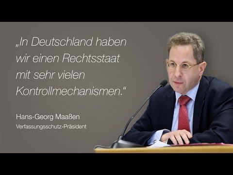 Hans-Georg Maaßen, Verfassungsschutz-Präsident über staatliche ...
