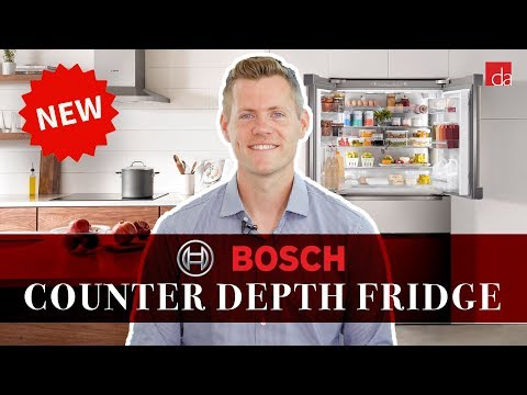 Counter Depth Refrigerator By Bosch | Hands On Overview