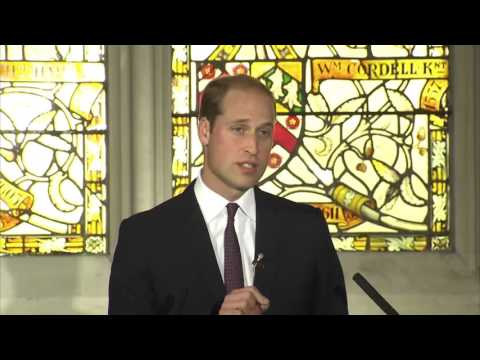 A speech by The Duke of Cambridge on the illegal wildlife trade for Chinese television
