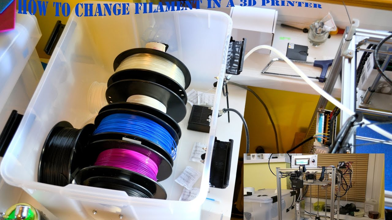 How to Change Filament in a 3D Printer