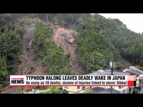 Typhoon Halong claims 10 lives in Japan: local media
