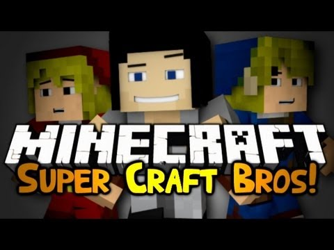 "Minecraft: Mini Game: ""OLD FRIENDS!"" Super Craft Bros! #2"