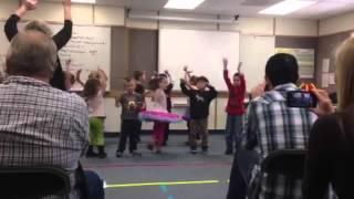Открытый урок музыки в школе-5
