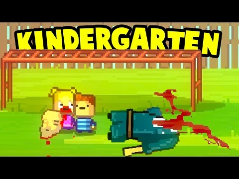 Kindergarten - CINDY BIT THE JANITOR'S HEAD OFF! Monstermon Collecting - Kindergarten Gameplay Ep 8