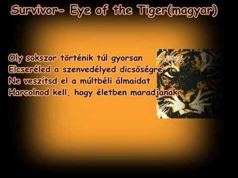 Survivor- Eye of the Tiger (magyar)