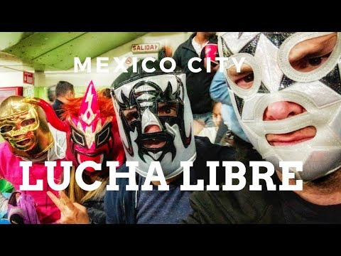 Mexico City Travel Vlog: Attending a Lucha Libre Match