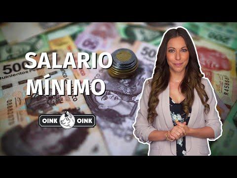 ¿Sabes qué es el salario mínimo?