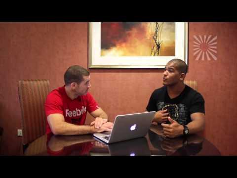 BJJ Purple Belt World Champion Mahamed Aly interview with Derek Gamblin