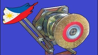 Cover images Wirebrush Machine Using Washing Machine Motor