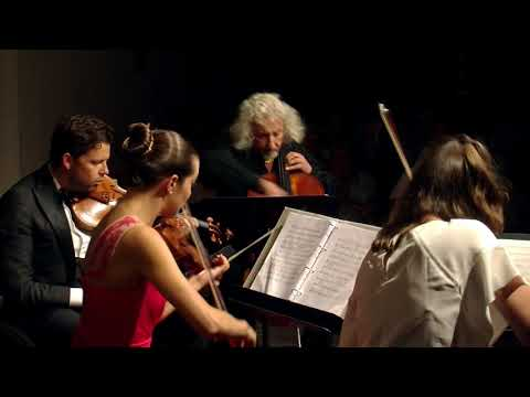 Schostakovich Quartet No. 8 - Jansen, McElravy, Rachlin, Maisky