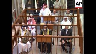 Tariq Aziz testifies as defence witness, Saddam argues with judge again