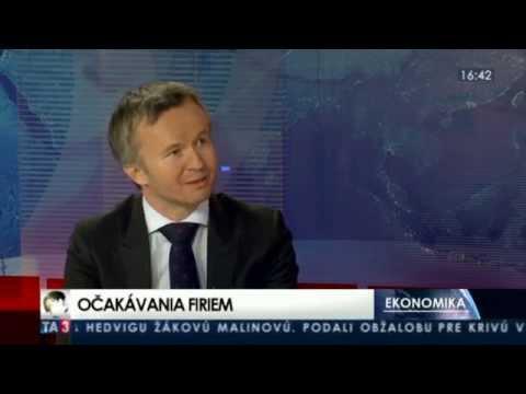 PwC Slovakia: Partner Alex Šrank about the Slovak CEO Survey 2014 on TA3 (in Slovak)