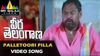 Veera Telangana Songs | Palletoori Pillagada Video Song | R Narayana Murthy | Sri Balaji Video
