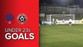 Bolton 1-1 Blades U23s - United goal