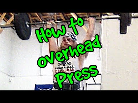 """How To"" OVERHEAD PRESS"