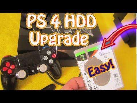 How to Upgrade a Playstation 4 Hard Drive Without Having to Re-Install All of Your Games & Updates