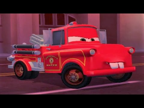 Rescue Squad Mater - Disney Pixar Cars Toon Mater's Tall Tales  
