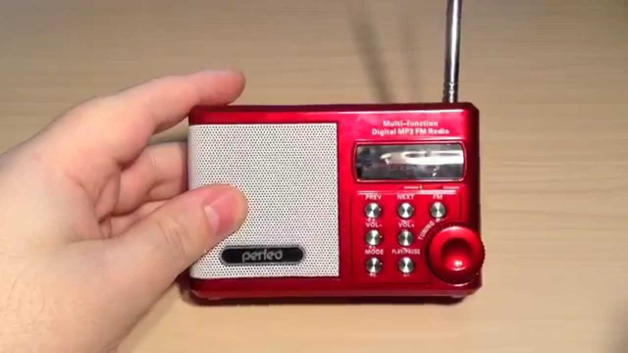 ОБЗОР УКВ MP3 FM <b>РАДИОПРИЕМНИКА PERFEO PF</b>-<b>SV922</b> ...