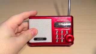 ОБЗОР УКВ MP3 FM РАДИОПРИЕМНИКА PERFEO PF-SV922