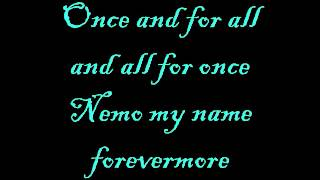 Nemo - Nightwish Lyrics
